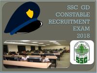 SSC GD Constable Recruitment 2018, Online Application