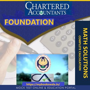 CA Foundation math solutions