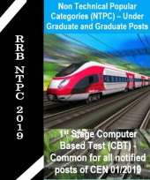 RRB NTPC 2019 Mock Test Series